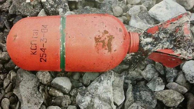 На узбережжі Швеції знайшли димові шашки з російських підводних човнів