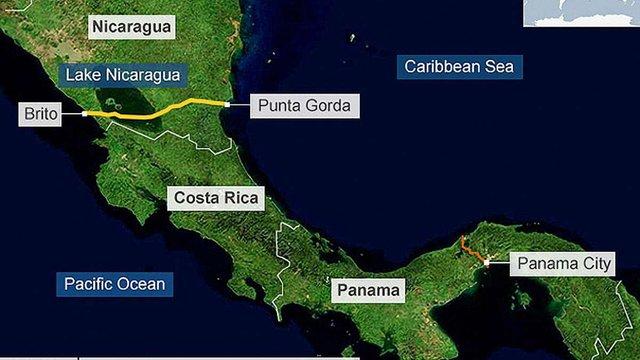 В Нікарагуа розпочалося будівництво міжокеанського каналу