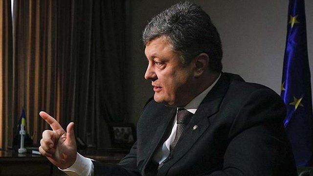 """Порошенко попросив міністра Абромавічуса """"запустити гільйотину"""" для скорочення чиновників"""