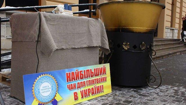 У Львові приготували рекордну кількість глінтвейну