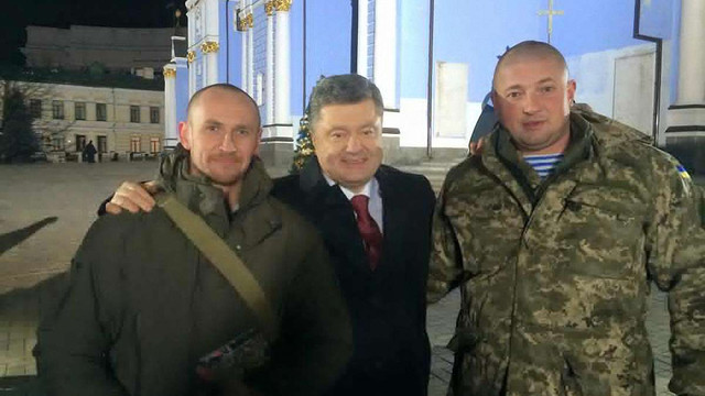 """У новорічному привітанні Порошенко виступить разом з донецькими """"кіборгами"""""""