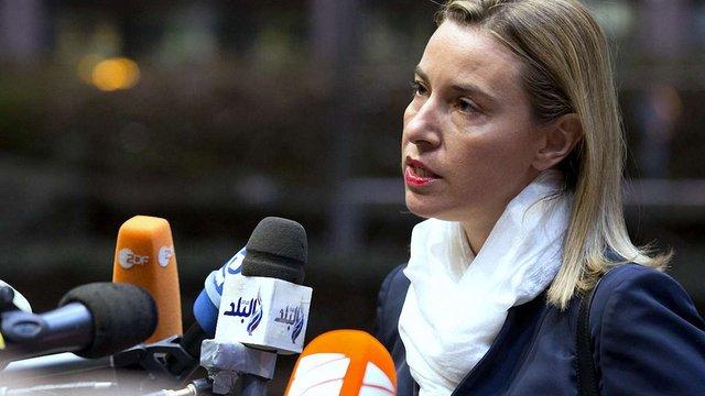 Могеріні закликала політиків ЄС до діалогу з Росією