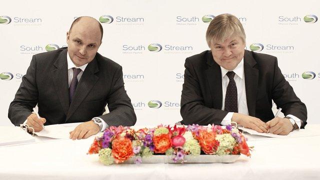 """Російський """"Газпром"""" викупив 50% акцій європейського проекту """"Південного потоку"""""""
