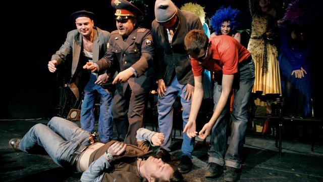 У московському театрі документальної п'єси Театр.doc пройшли обшуки