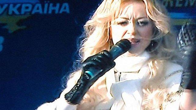 У Моршині зірвали концерт Наталії Валевської