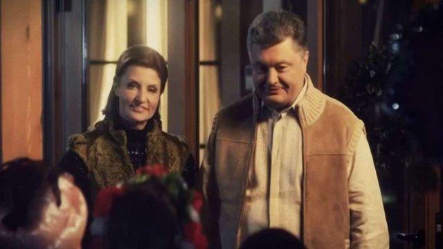 Президент привітав українців Різдвом і закликав помолитися за українських воїнів (відео)