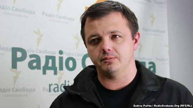 Семенченко вибачився перед журналісткою Громадського