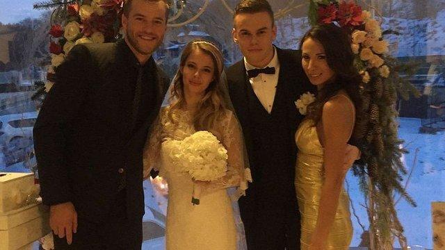 Голкіпер київського «Динамо» відсвяткував весілля у Львові