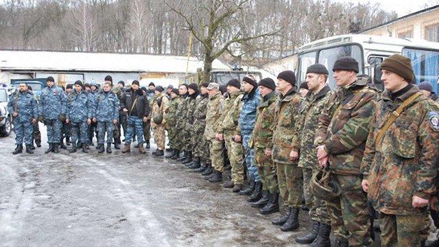88 бійців спецбатальйону «Львів» вирушили в зону АТО