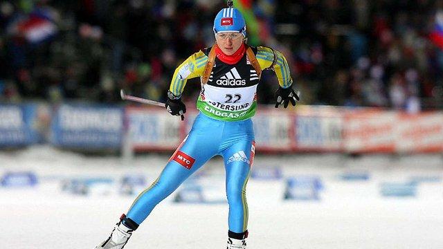 Валентина Семеренко на третьому місці завершила етап Кубка світу в Обергофі