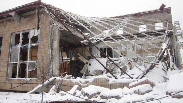 Донецький краєзнавчий музей остаточно перетворився на руїни