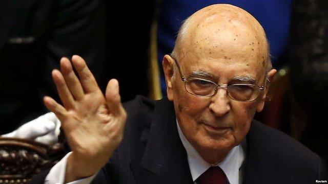 Президент Італії подав у відставку