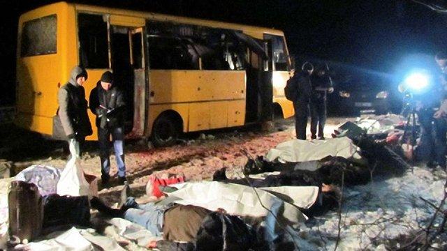 В ОБСЄ підтвердили, що автобус під Волновахою потрапив під обстріл системи «Град»