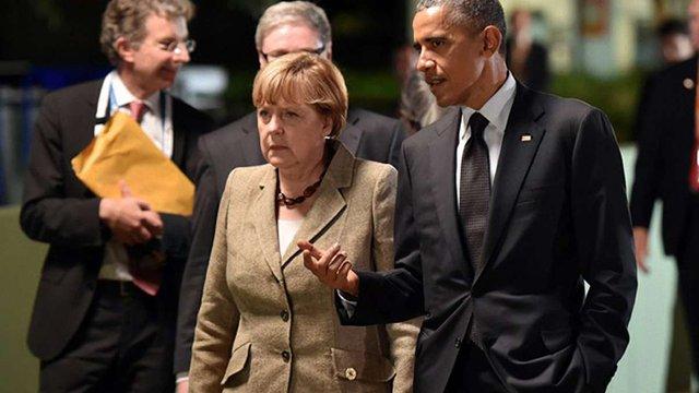 Обама і Меркель обговорили нові джерела фінансування для України