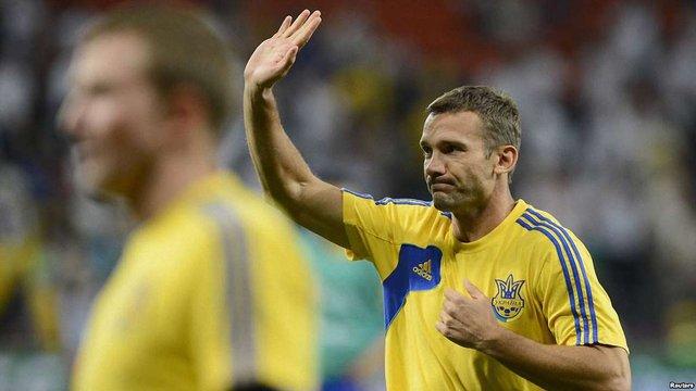 Футболіст Андрій Шевченко розповів, що інкогніто бував на Майдані