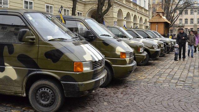 За кошти американського фонду для українських військових закупили 15 автомобілів