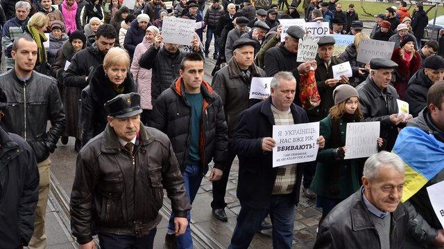 У містах 13 країн світу громадяни вийшли на Марш миру разом з Україною
