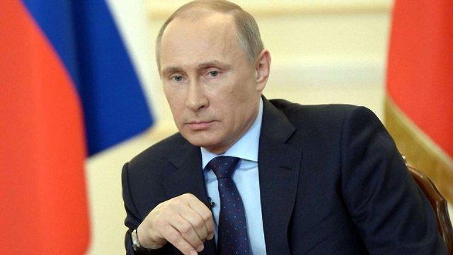 Путін: Росія готова разом з ОБСЄ контролювати припинення вогню на Донбасі
