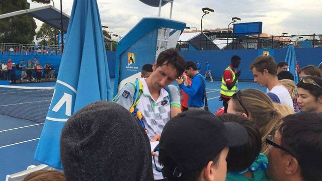 Australian Open: Сергій Стаховський тріумфував із вигуком «Слава Україні!» (відео)
