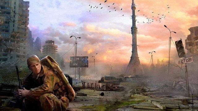 Російський художник намалював кінець світу в Москві