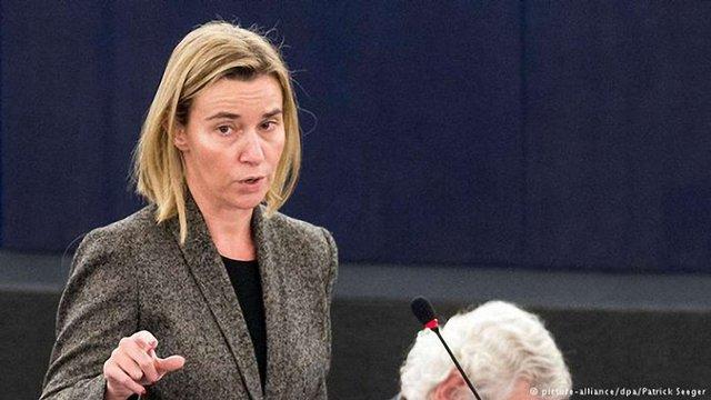 Ескалація насильства на Донбасі призведе до погіршення відносин між ЄС і Росією, - Могеріні