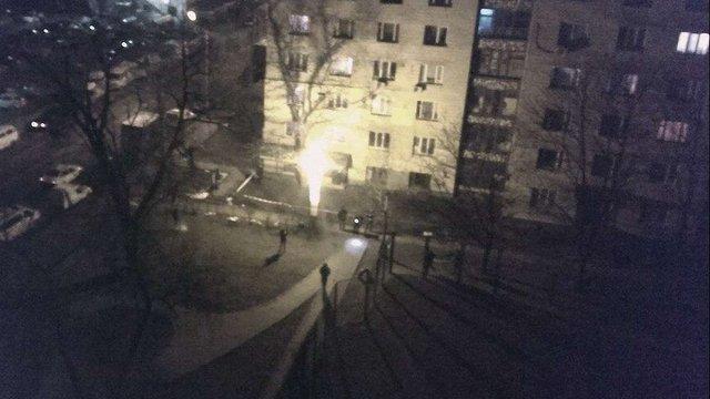 У Дніпровському районі Києва вночі прогримів вибух, постраждалих немає