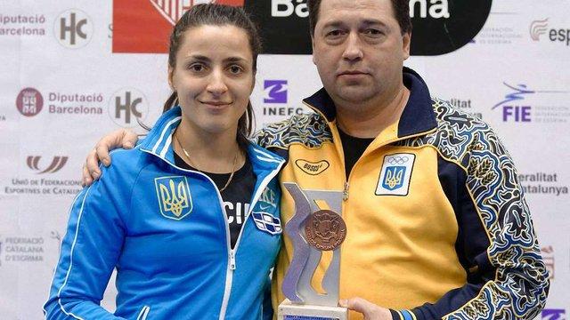 Львів'янка Яна Шемякіна завоювала бронзу на етапі Кубка світу з фехтування
