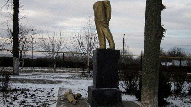 В Одеській області поруйнували більше десятка пам'ятників Леніна