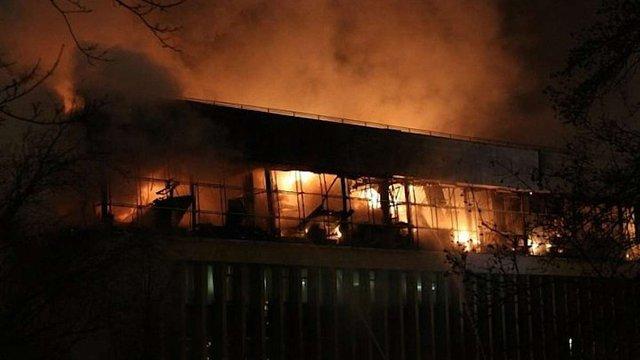 У Москві згоріла бібліотека з раритетними виданнями