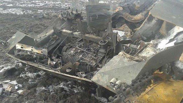 Українська артилерія розгромила колону російської бронетехніки на Луганщині