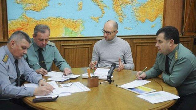 Яценюк підписав постанову про додаткові виплати учасникам АТО