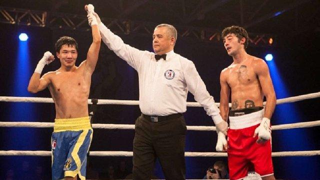 Боксера «Українських отаманів» назвали кращим боксером місяця