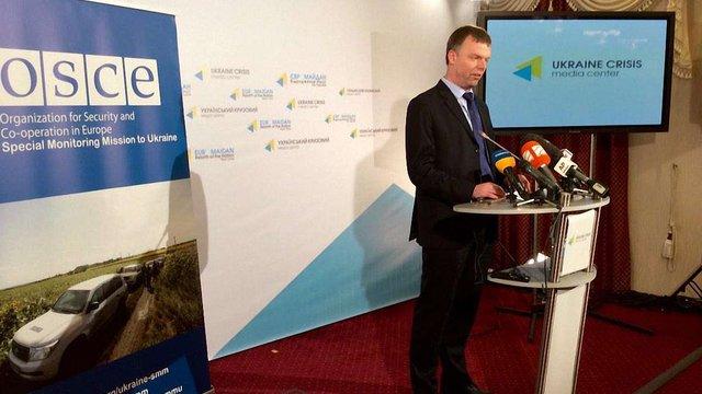 Житлові райони Луганська обстрілювалися касетними боєприпасами, - ОБСЄ