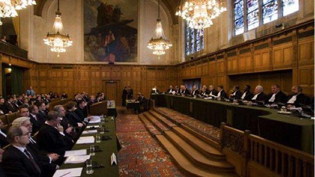Парламент визнав юрисдикцію Гаазького трибуналу щодо злочинів Росії в Україні