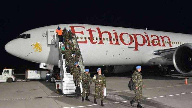 До Львова із місії в Конго повернулися 224 миротворці