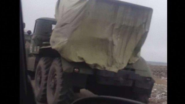ОБСЄ зафіксувала біля Макіївки 21 вантажівку з боєприпасами для «Градів»