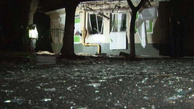 У центрі Одеси біля відділення «ПриватБанку» стався вибух