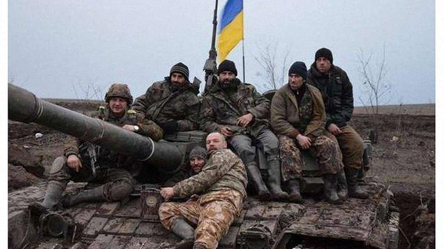 Українські бійці вкрали у бойовиків російський танк