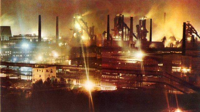 У Єнакієвому і Макіївці зупинили роботу два металургійні заводи Ахметова