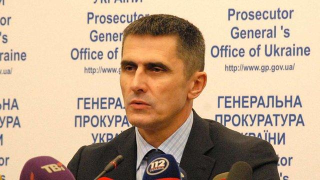 Порошенко пропонує призначити генпрокурором свого кума Шокіна, - Соболєв