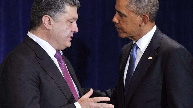 Порошенко і Обама домовилися про координацію дій після переговорів у Мінську