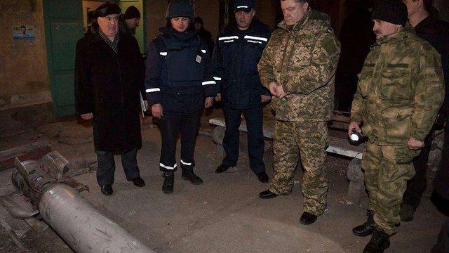 Краматорськ обстріляли касетними боєприпасами, – Порошенко