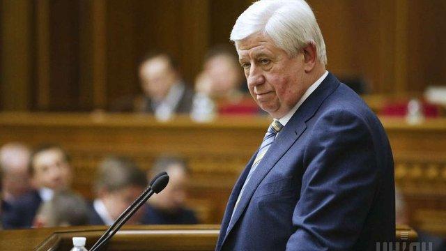 Президент затвердив Шокіна на посаді генпрокурора