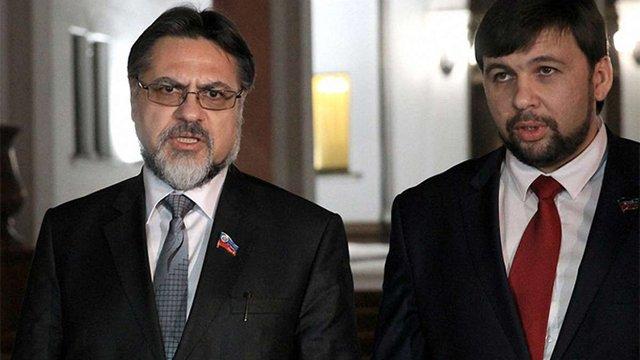 Сепаратисти заявили, що позаблоковість України - це єдина умова миру