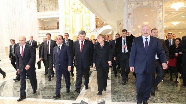 Переговори «нормандської четвірки» у Мінську закінчилися
