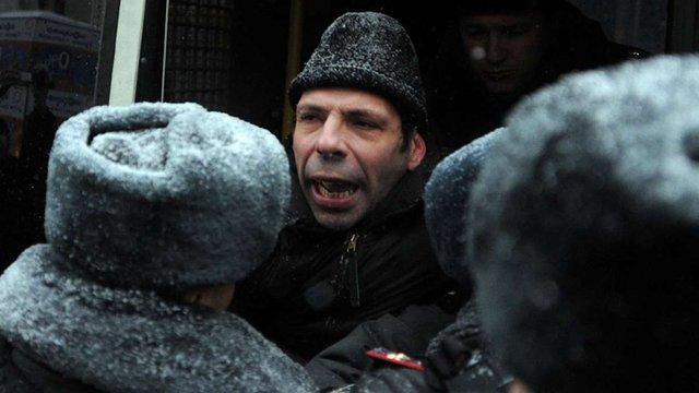 У Москві затримали опозиціонера, який розповсюдив висловлювання українського блогера