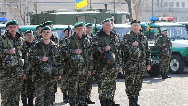 До Львова повертаються прикордонники, які півроку виконували завдання у зоні АТО