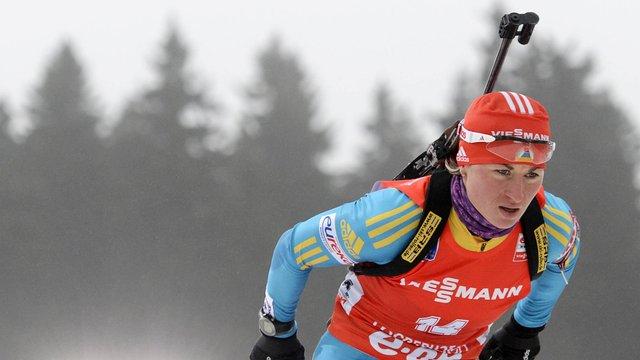 Біатлон: невдалий старт коштував Валі Семеренко третього місця у загальному заліку
