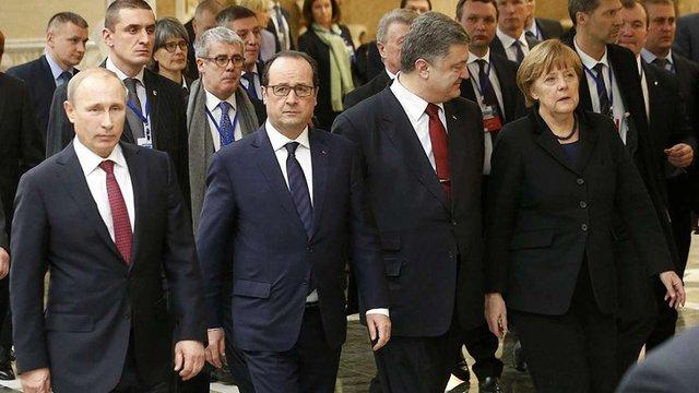 «Нормандська четвірка» може ще раз зустрітись через кілька тижнів, – Олланд