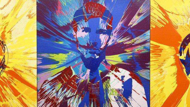 Два портрети Ліонеля Мессі продали майже за один мільйон євро